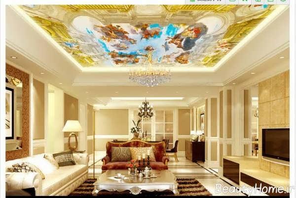 اتاق پذیرایی منحصر به فرد سلطنتی