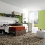طراحی دکوراسیون اتاق خواب یک نفره برای جوانان