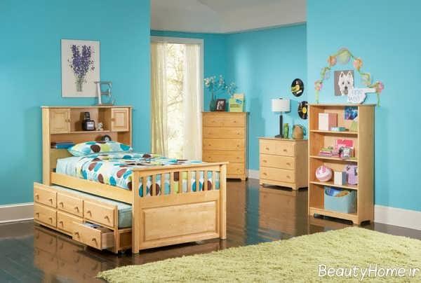 طراحی دکوراسیون اتاق خواب دخترانه جوان