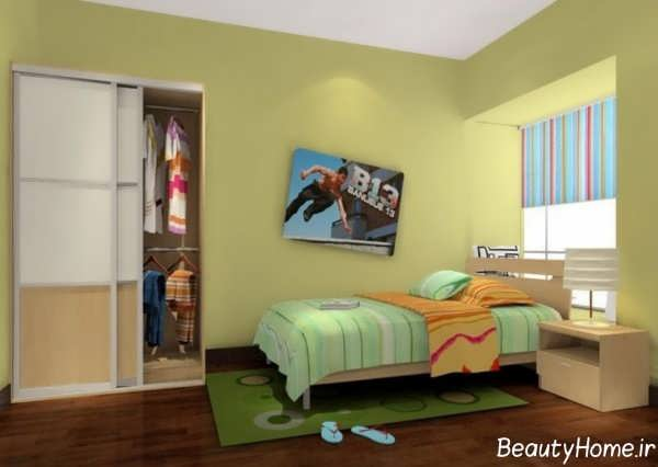 دکوراسیون زیبا و جدید اتاق خواب