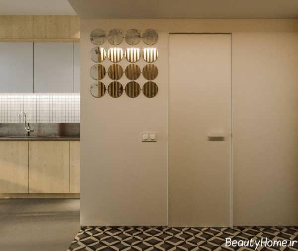 طراحی داخلی خانه خیلی کوچک