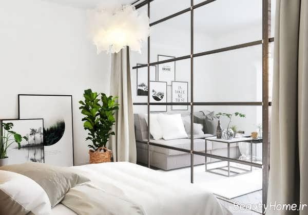 طراحی داخیل اتاق خواب مدرن