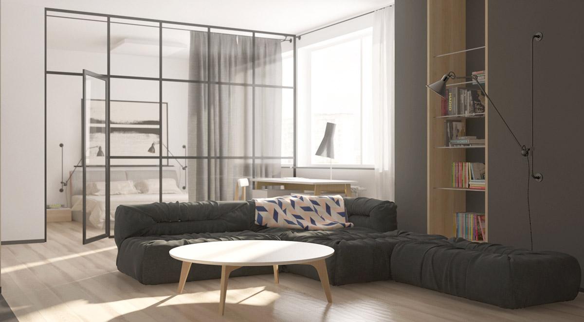 6 کاربرد دیوار شیشه ای در دکوراسیون داخلی منزل