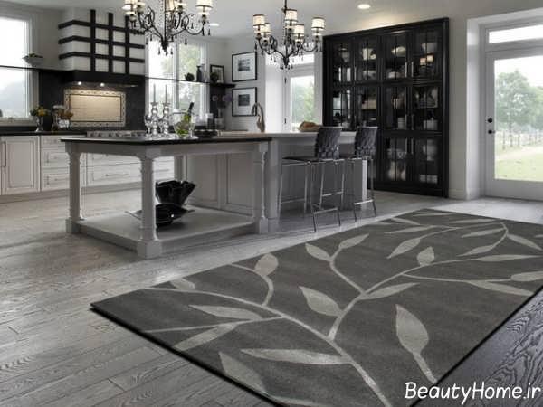 طرح های جدید فرش آشپزخانه
