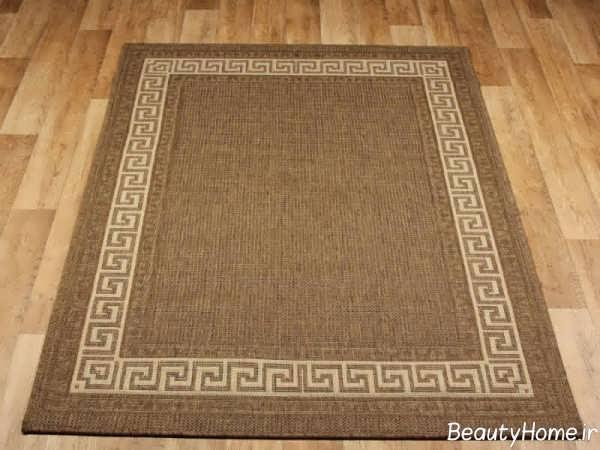 مدل ساده و جذاب فرش آشپزخانه