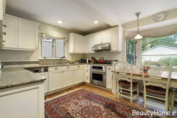 مدل و طرح جذاب فرش آشپزخانه
