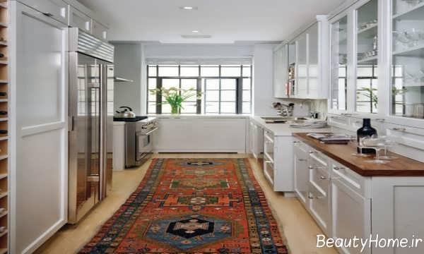 مدل خاص فرش آشپزخانه