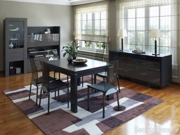 مدل فرش شلوغ برای آشپزخانه