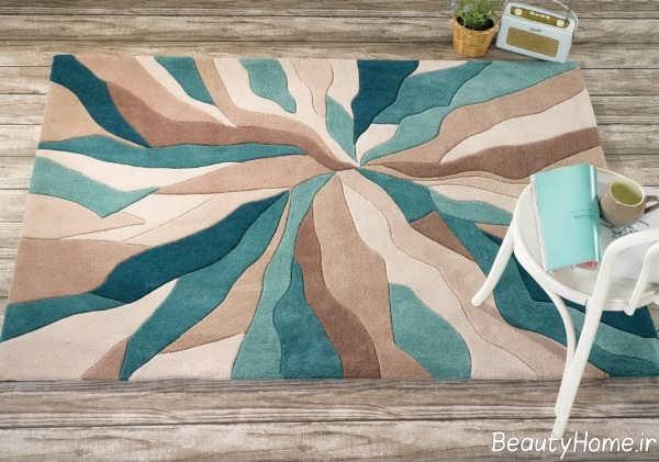 مدل فانتزی فرش آشپزخانه