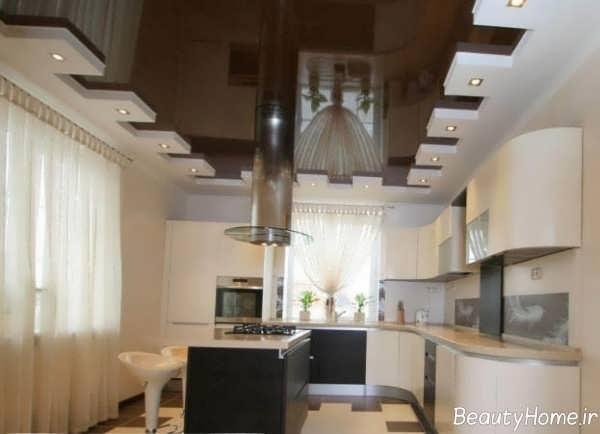 مدل زیبا و شیک کناف آشپزخانه