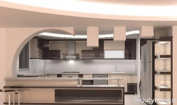 مدل شیک و جدید سقف کناف