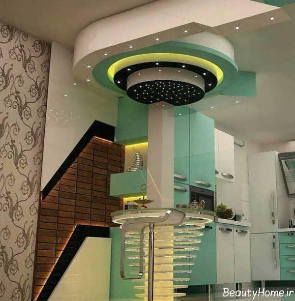 مدل سقف کناف برای آشپزخانه