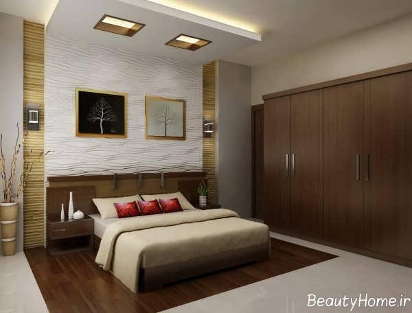 طرح های دکوراسیون جدید اتاق خواب مستر