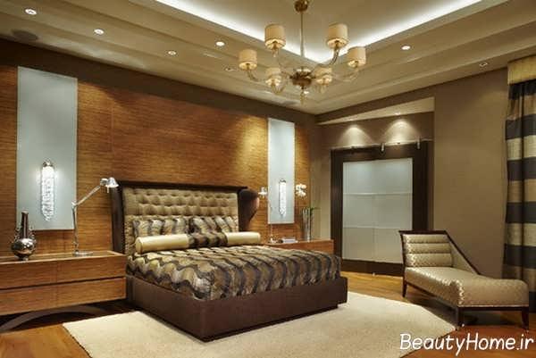 دکوراسیون و نورپردازی اتاق خواب مستر