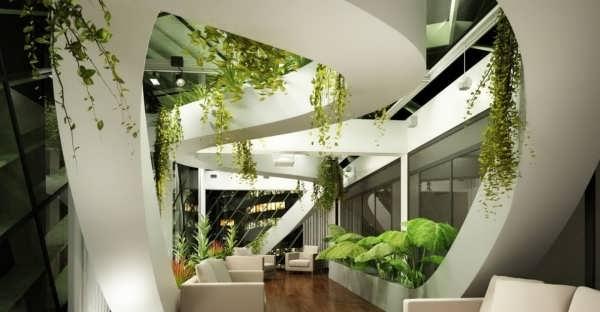 طراحی شیک فضای سبز