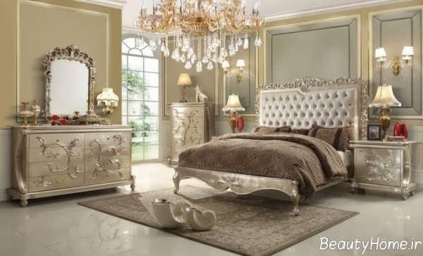 مدل جذاب و زیبا تخت خواب