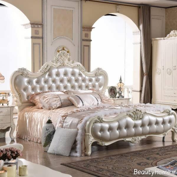 مدل تخت خواب لوکس و سلطنتی
