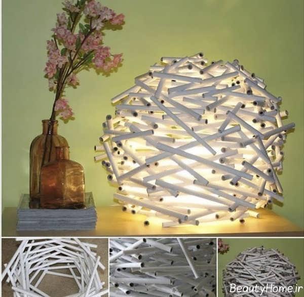 ساخت چراغ خواب با وسایل ساده