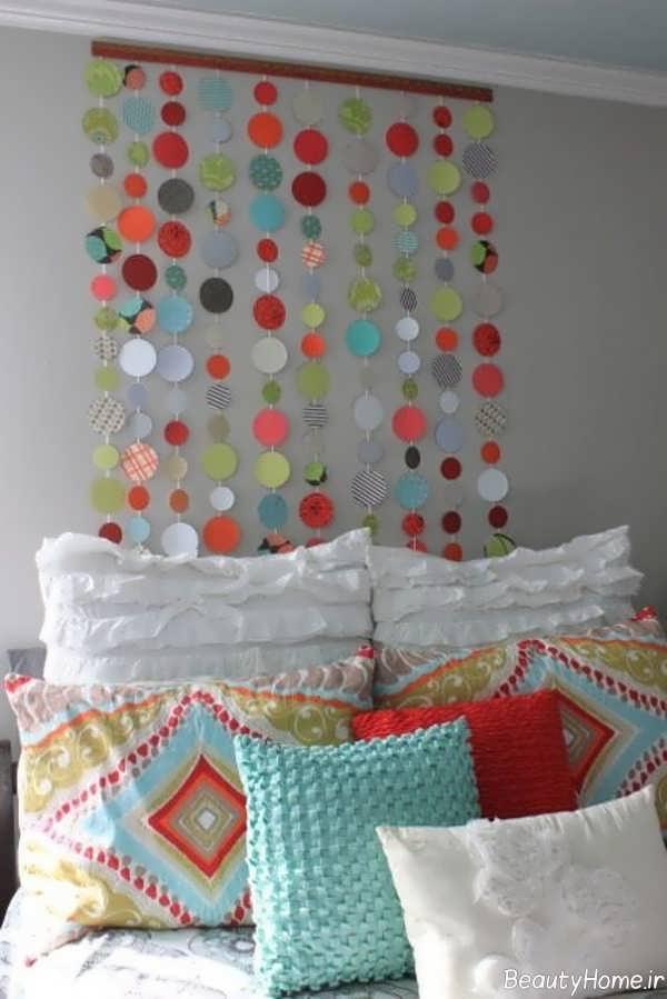 تزیین شیک و زیبا اتاق خواب با وسایل دورریختنی