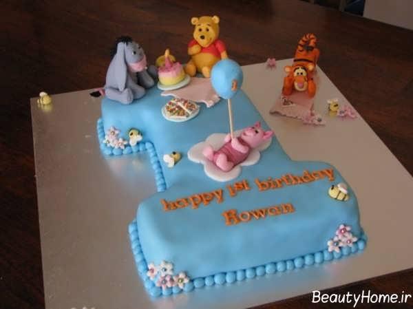 تزیین کیک تولد فانتزی