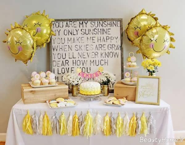 تزیین جشن تولد یک سالگی