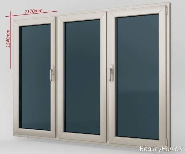 مدل پنجره شیک و ساده برای ساختمان