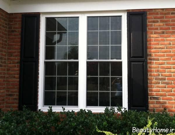 مدل پنجره زیبا و جدید برای ساختمان