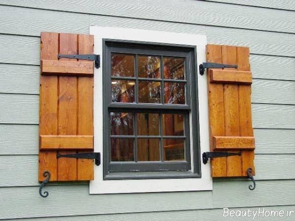 مدل پنجره کلاسیک ساختمان