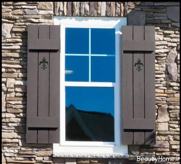 مدل پنجره شیک ساختمان