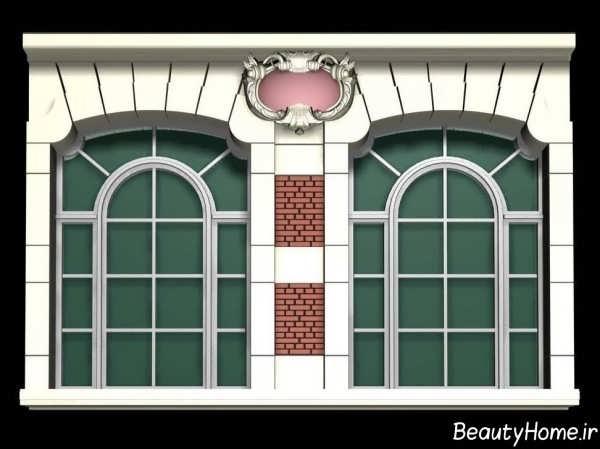 مدل پنجره شیک و زیبا برای ساختمان