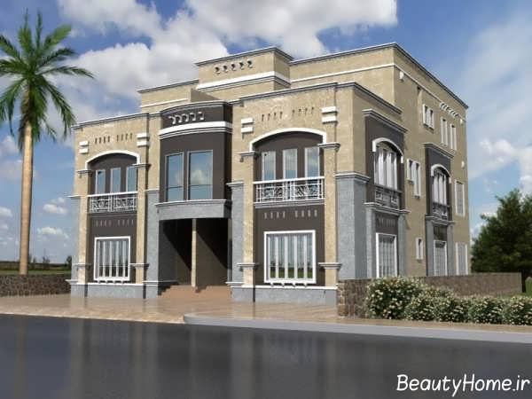 سرامیک نمای خارجی ساختمان مسکونی