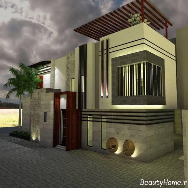 سرامیک جذاب نمای ساختمان