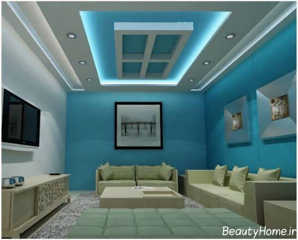 نورپردازی مخفی دیوار و سقف