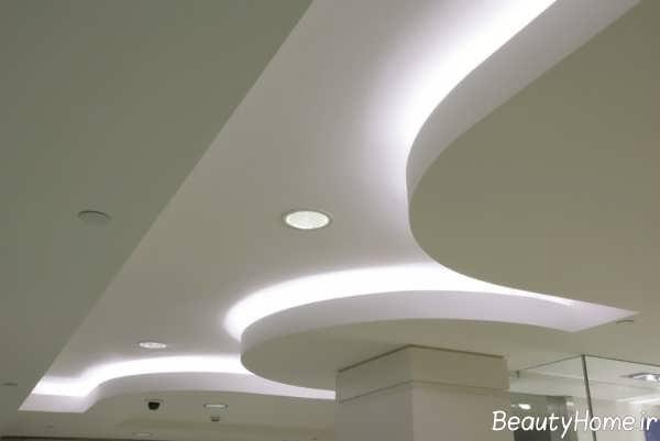 نورپردازی مخفی سقف تالار