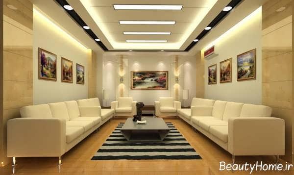 نورپردازی متفاوت مخفی سقف