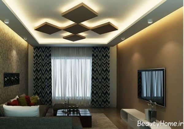 نورپردازی فوق العاده مخفی سقف