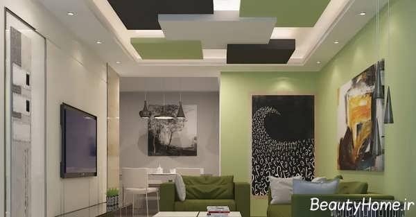 نورپردازی مخفی متنوع برای سقف