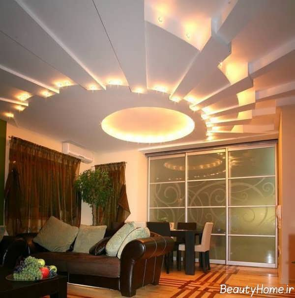 نورپردازی منحصر به فرد مخفی سقف