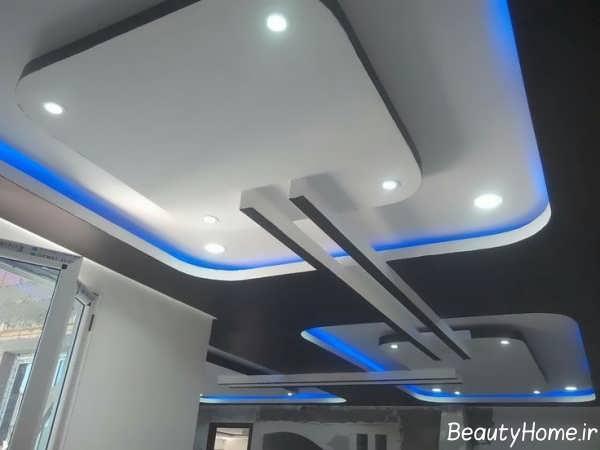 نورپردازی مخفی سقف ساختمان