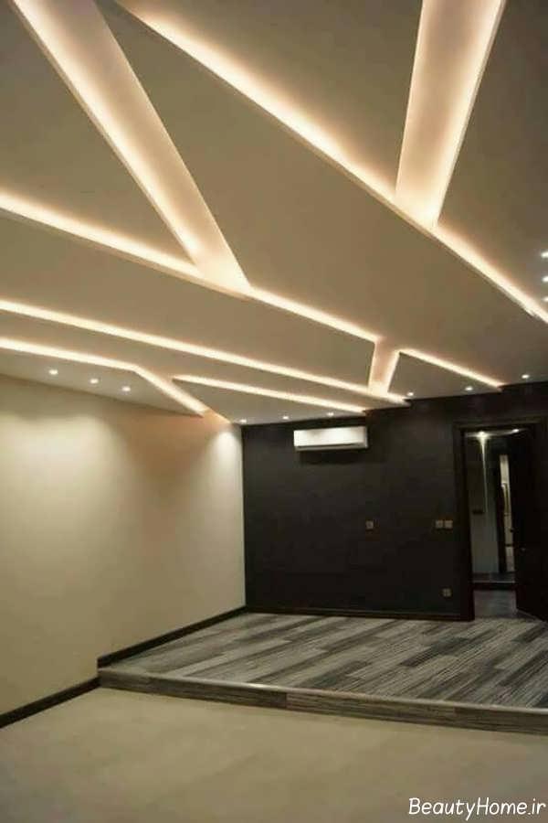 تصاویر نور مخفی برای سقف ورودی خانه