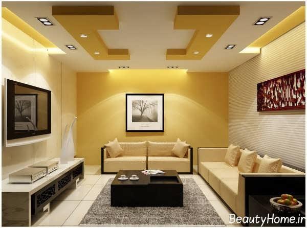 تصاویر نور مخفی برای سقف آپارتمان