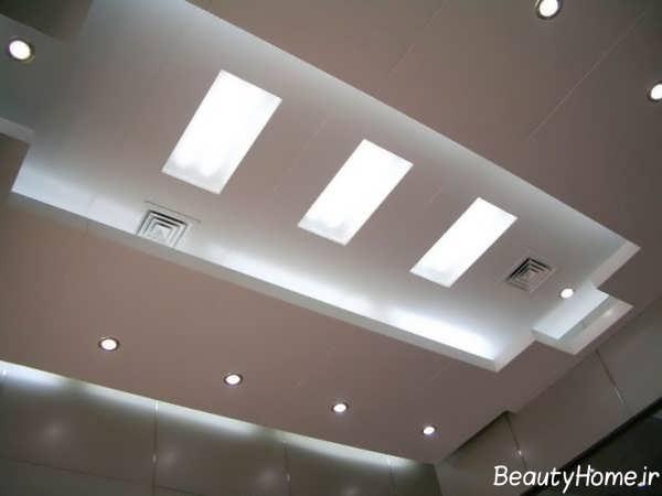 طراحی نور مخفی برای سقف پارکینگ