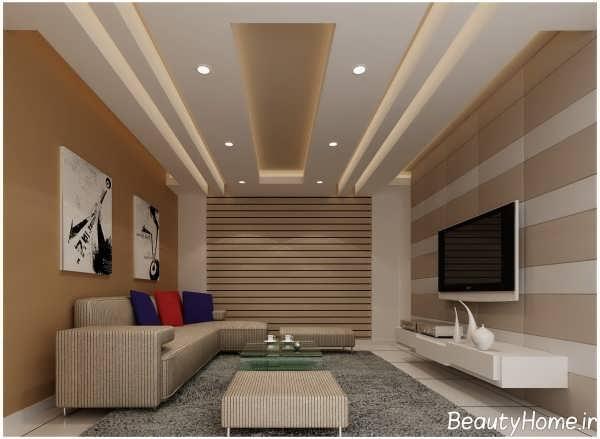 نورپردازی مخفی سقف لابی هتل