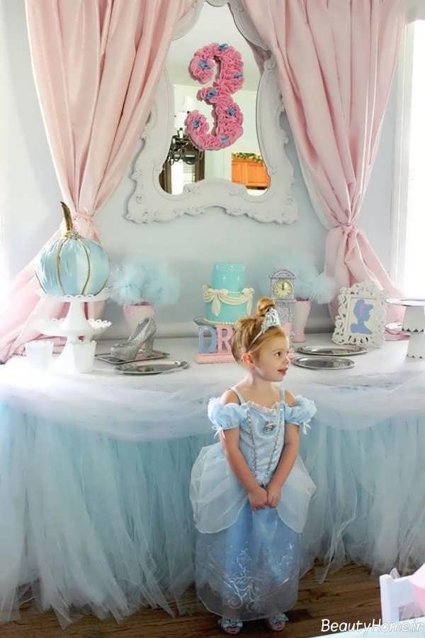تم تولد دخترانه پرنسس سیندرلا
