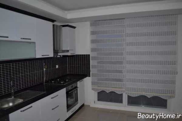 مدل زیبا و جدید پرده آشپزخانه