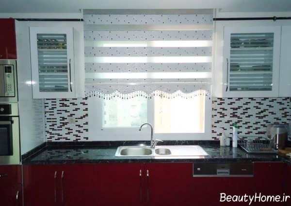 مدل پرده جدید و شیک برای آشپزخانه