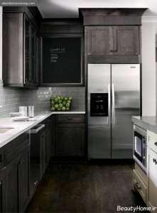 دکوراسیون امروزی آشپزخانه های تیره