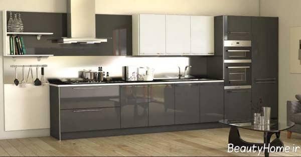 مدل کابینت زیبا و شیک آشپزخانه