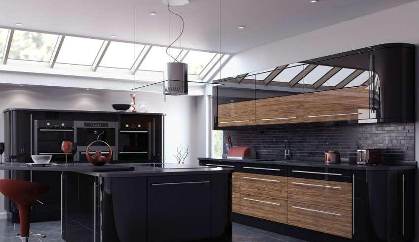 طرح کابینت های گلاس برای آشپزخانه