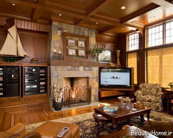 قرار دادن تلویزیون در اتاق نشیمن بر اساس فنگ شویی